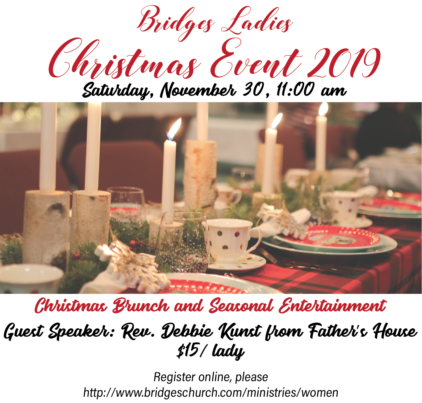 bridges Ladies Christmas Event 2019 - 11:00 AM
